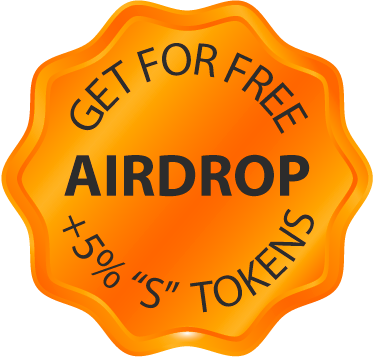For free airdrop Get +5% S tokens
