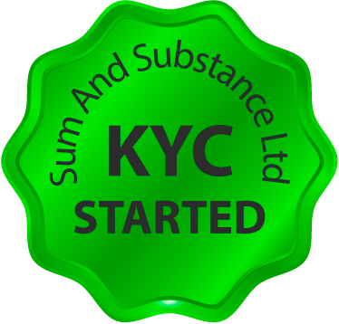 KYC started via Sum And Substance Ltd!